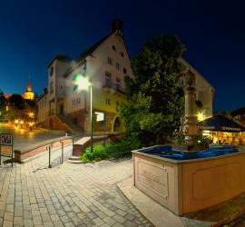 Markt-Brunnen-Nacht