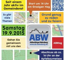 Plakat ABWeg